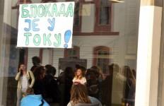 blokada filozofskog fakulteta