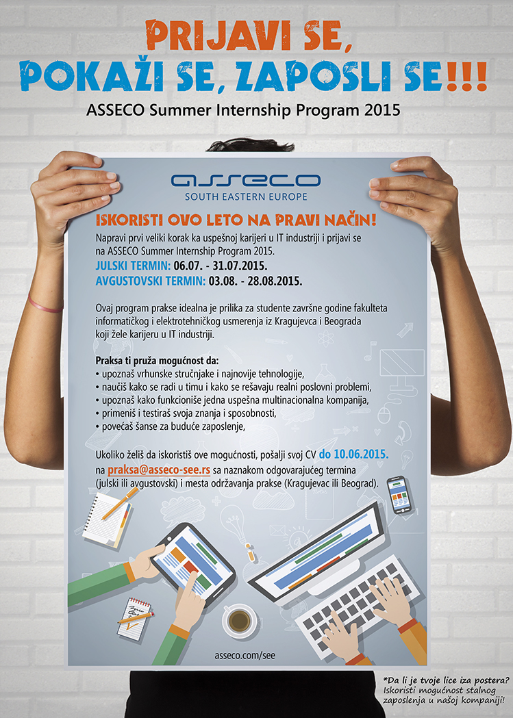 Asseco Summer Internship Program 2015