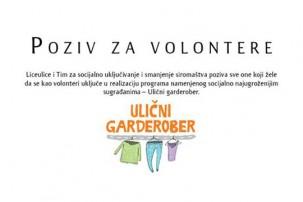 volonteri ulicni garderober