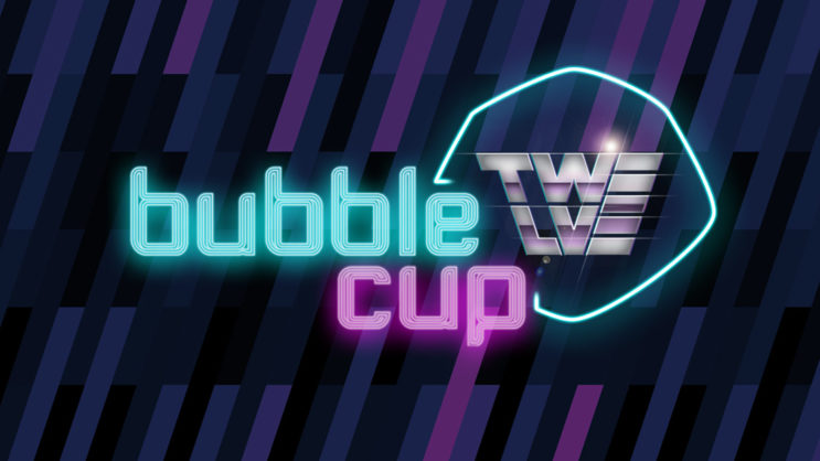 Buble cup logo